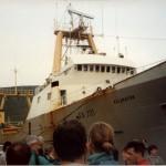 Trawler in Akureyri harbour