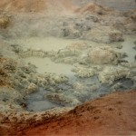 Myvatn, near volcano