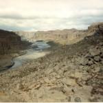 Canyon at Dettifoss