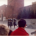 Change of guard at Lenin's tomb
