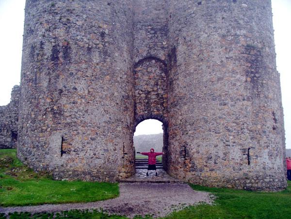 Criccieth Castle gatehouse