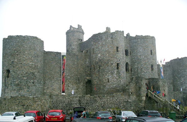 Harlech Castle from car park