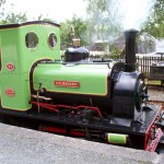 Llanberis lakeside NG railway loco