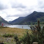 Llanberis upper lake (Llyn Peris)