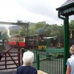 Snowdon train at Llanberis