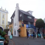 Portmeirion square view