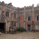 Nether Winchendon courtyard