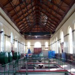 View of pump hall