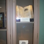 Bewick book on display