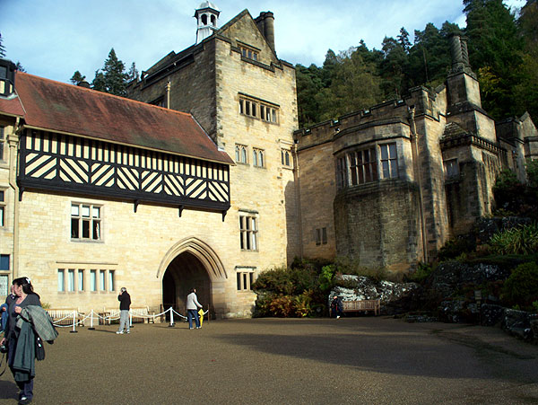 Cragside view from South