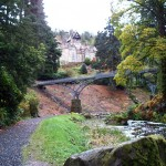 View of Iron Bridge and house