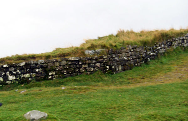 Section of Hadrian&#039;s Wall