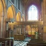 Eccleston church interior