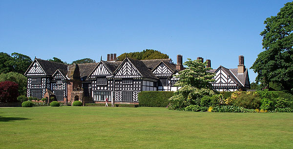 Speke Hall South front