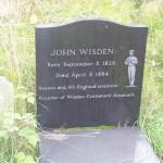Wisden tombstone