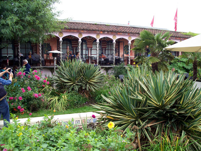 Moorish roof garden