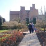 Chartwell formal garden