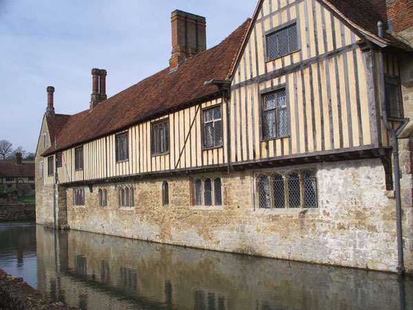Ightham, south side with moat
