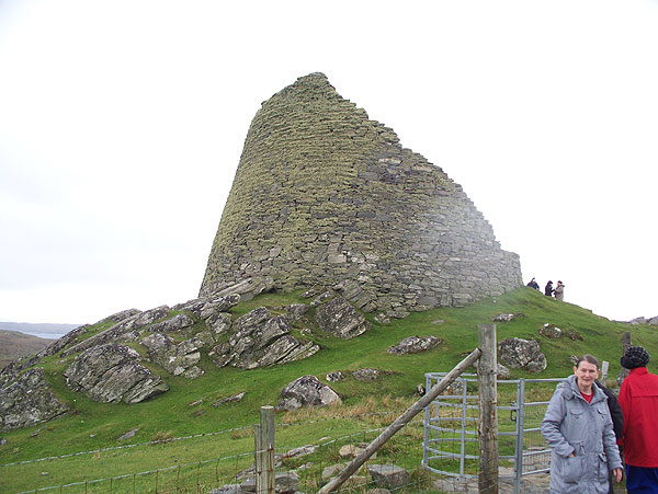 Broch from approach path