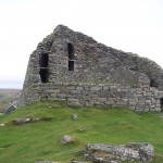 Broch from near entrance