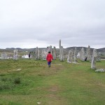 Callanish stones - wide view