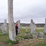 Tall Callanish stone