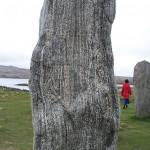 Callanish stone close-up