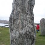 Callanish stone close-up