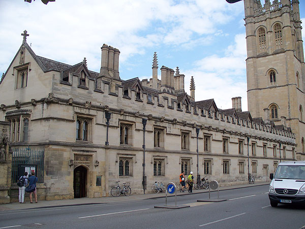 Magdalen College front