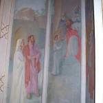 Chapel wall