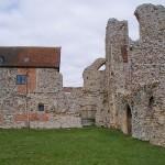 Ruin with farmhouse