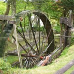 35 ft water wheel