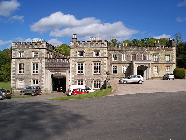 Entrance front, Port Eliot