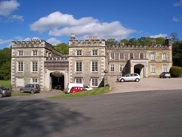 Entrance front, Port Eliot