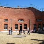 Keep circular courtyard