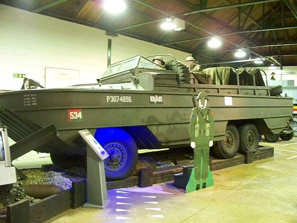 DUKW in vehicle hall