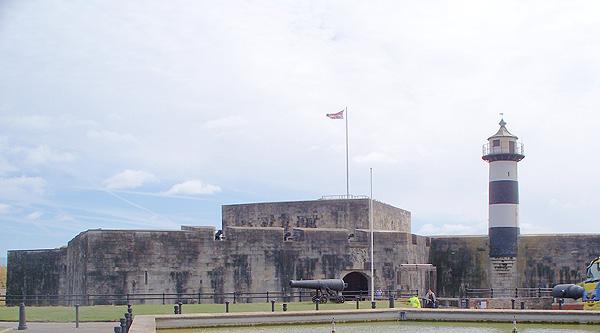 Southsea Castle exterior