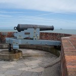 68lb. cannon & mounting