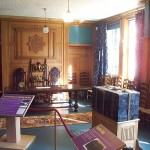 Bishops' meeting room and 'box'