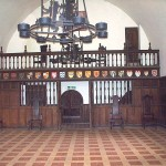 Duke's hall, with screen