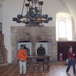 Duke's Hall fireplaces