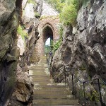 Portcullis Arch & steps