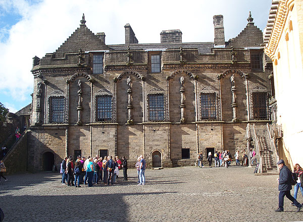 Palace at Stirling Castle