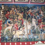 Tapestry in bedchamber, Palace