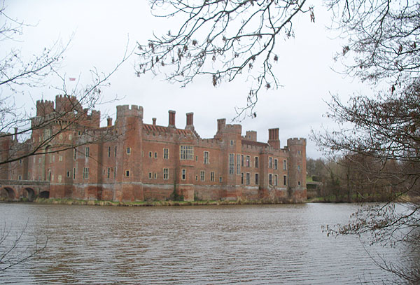Castle and wide moat