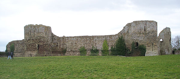 Inner bailey wall