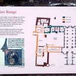 Priory ruins map