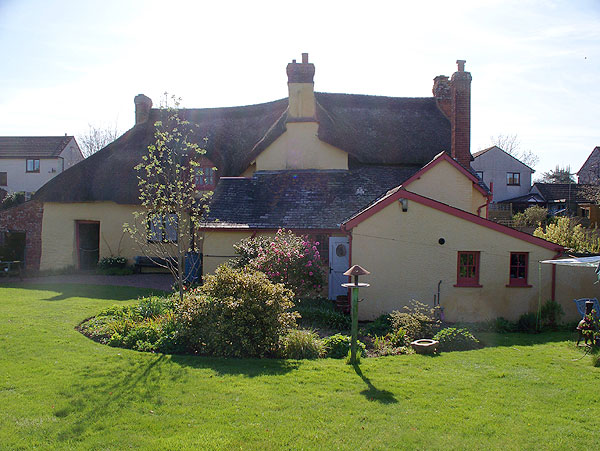 Cottage from rear