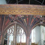 Carved Rood screen