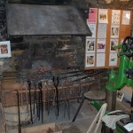 Smithy museum forge